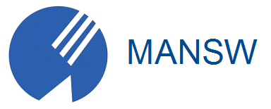 MANSW logo with name