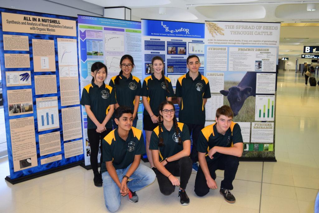 ISEF Team Departing Sydney