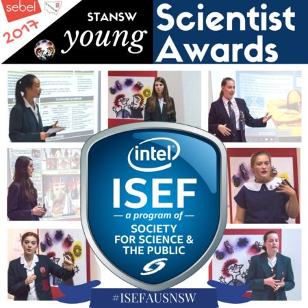 The NSW Young Scientist ISEF Team